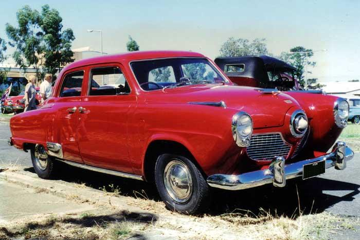 1951 Studebaker Champion Sedan.