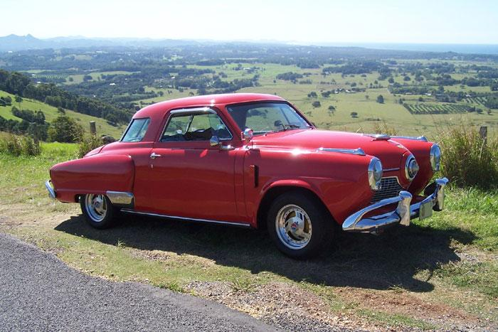1951 Studebaker Champion Starlight Coupe.