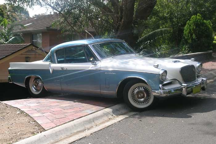 1956 Studebaker Golden Hawk.