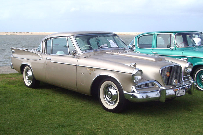1958 Studebaker Golden Hawk.