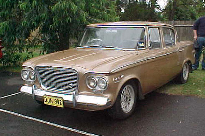 1961 Studebaker Lark Cruiser Sedan.