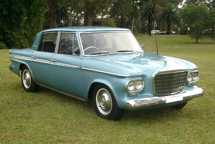 1963 Studebaker Lark Cruiser Sedan.