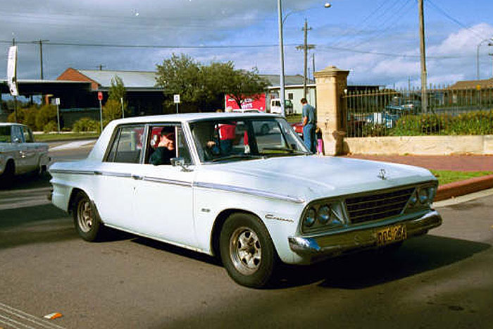 1964 Studebaker Cruiser Sedan.